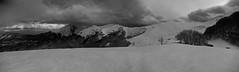 landscape (daniele ideale costanzo) Tags: snow winter abruzzo cloud sky gransasso italy mountain montecorvo rifugiopanepucci appennino