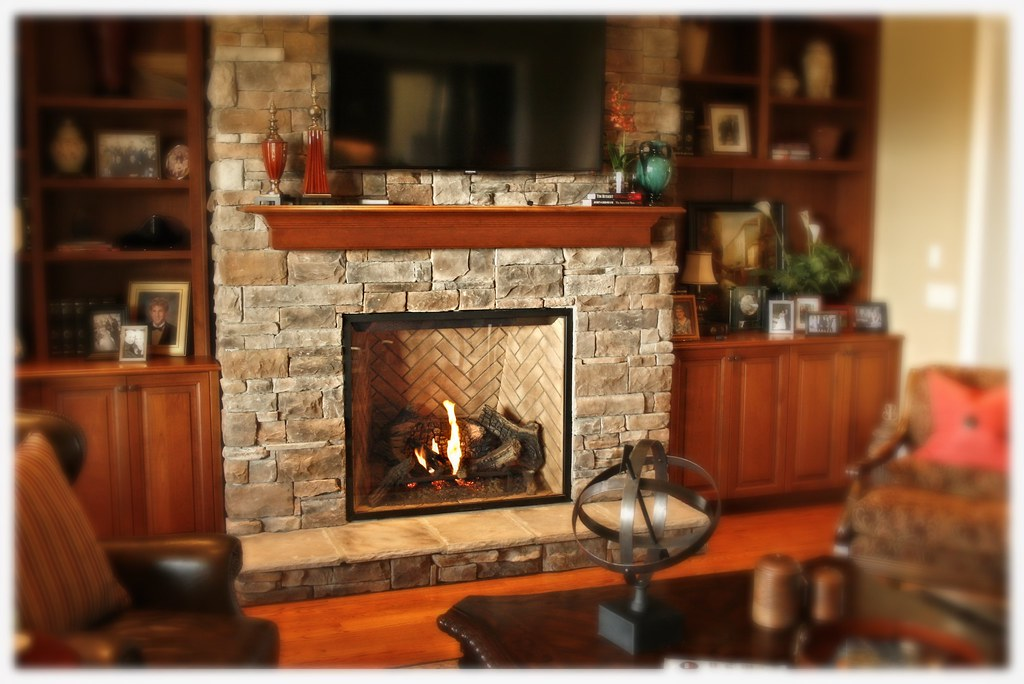Town & Country TC42 DV Fireplace, Tifftonia, Tn.