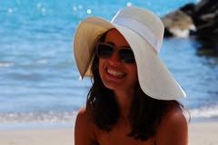 Sea Portrait (albertozuppardi) Tags: sea portrait woman sun beautiful nikon mare ale sole ritratto d60 policastro