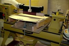 Thickness Sander (C r u s a d e r) Tags: hobby attachment etc hobbies woodshop lathe imadeitmyself thicknesssander segmentedturning pentaxk3 powermatic3520b