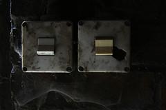 Light switch - Beelitz Heilstätten (sensaos) Tags: urban abandoned germany deutschland decay exploring forgotten sanatorium exploration derelict abandonment trespassing ue urbex 2015 beelitz heilstätten sensaos
