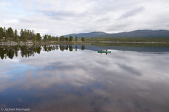 Femunden und Jmtland-468 (jo.hermann) Tags: nature norway landscape norge ally scenery husky schweden norwegen canoe mohawk sverige kanu gatz paddeln femunden femund feragen