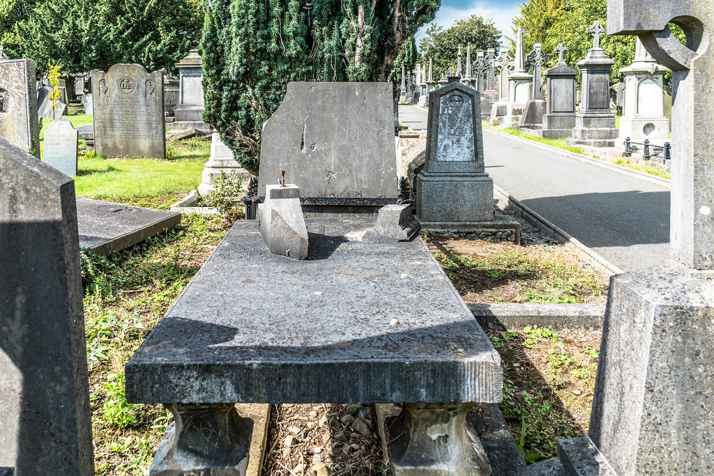 GLASNEVIN CEMETERY [MY FIRST DAY USING THE NEW SONY A7RMkII] REF-107417