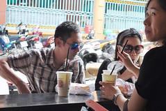 A taste of Vietnam (Roving I) Tags: coffee breakfast media vietnam hotels excursions tours saigon hospitality hcmc journalists banhmi lemeridien hochiminh breadrolls coffeefactory buffalotours huynhhoa