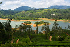 Maskeliya Lakes (A.Stepanov) Tags: travel sky lake mountains nature clouds landscape temple nikon asia outdoor explore jungle srilanka nikkor lk centralprovince d5200 1855mmf3556gvr mointainscape