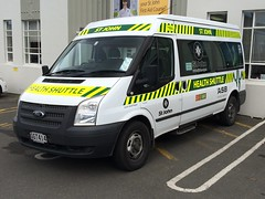 GGT 414 (ambodavenz) Tags: new ford st john central ambulance vehicles health zealand transit shuttle otago dunedin