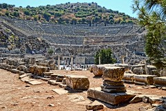 Ephesus Turkey (amhjp) Tags: heritage history turkey nikon amphitheatre historic worldheritagesite historical archeology turkish ephesus archeological worldheritage historicbuildings nikond3200 unsesco amhjpphotography amhjp palomapasha2015