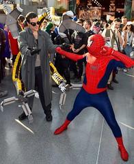 DSC_0578 (Randsom) Tags: nyc newyork fun costume october cosplay spiderman superhero comicbooks rogue villain spandex marvelcomics comicconvention doctoroctopus javitscenter supervillain 2015 nycc nycomiccon newyorkcomiccon spidermanfamily nycc2015