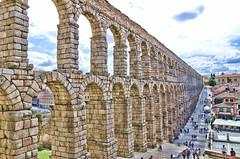 Segovia. El Acueducto (4).- (ancama_99(toni)) Tags: espaa architecture spain arquitectura nikon segovia acueducto 1000views 18105 10favs 10faves 25favs 25faves d7000