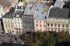 Rynok: a Fekete-hz s a Korniakt palota (sandorson) Tags: travel lviv ukraine galicia lvov  lww lemberg galcia leopolis ukrajna    sandorson ilyv halics