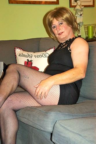 legs granny crossed