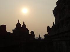 Borobudur (terri-t) Tags: sunset indonesia landscape temple java buddha stupa buddhist unesco worldheritagesite borobudur magelang weltkulturerbe mahayana