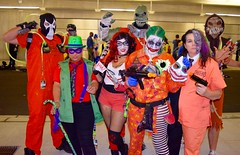 DSC_0517 (Randsom) Tags: newyorkcity fun costume october cosplay scarecrow superhero batman comicbooks joker rogue dccomics villain bane riddler spandex harlequin harleyquinn comicconvention twoface javitscenter supervillain 2015 killercroc nycc batmanfamily nycc2015 newyorkcomiccon2015 nycomiccon2015