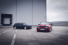 vw golf gti & vr6 (Luky Rych) Tags: vw volkswagen golf mk3 mk3madness gti vr6 stance low automotive photography hella magic projekt zwo canon 100d worldcars