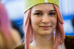 Rose hair (julitozz) Tags: portrait girl beauty face female hair eyes women emotion bokeh innocent frenchgirl frenchwoman