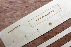 The Lettermate Demo Sign (thea superstarr) Tags: writing hand envelope lettering tool madeinusa lasercut laserengraved thelettermate