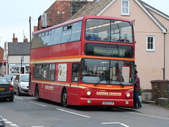 First AU53HJV Saxmundham 30 October 2015 (The original SimonB) Tags: buses suffolk october transport first samsung saxmundham 2015 wb150