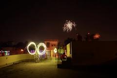 Happy Diwali (DuttaArghya) Tags: longexposure light festival night painting fireworks trail hindu kolkata bengal bengali