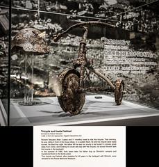 Unburied Tricycle (-Astin-) Tags: trip travel vacation japan museum hiroshima trips sigma18200os canon7d tokina111628