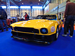 Aston Martin V8 Vantage Race Car (Harry3099) Tags: show new old classic cars sports car wheel sport vintage slow ride wheels engine fast indoor super rides motor supercar tyres tyre exhaust sportscar nec sportscars exhausts supercars