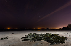 Kinghorn beach at night (C.Andrews) Tags: beach estuary forth orion lothians kinghorn