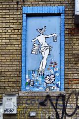 Street Art (padraic collins) Tags: usa streetart newyork brooklyn graffiti bushwick ladyaiko grafftours thebushwickcollective