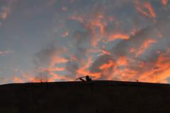 the shooter (Iryna Mykytka) Tags: sunset santabarbara atardecer alicante cielo shooter