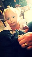 057 (tammye*) Tags: portrait baby girl child cutie niece sissy cutiepie tadpole