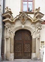Krakov, portály (29) (ladabar) Tags: portal kraków cracow cracovia krakau krakov portál