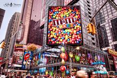 M&M's World - Hershey's Times Square Store (Kofla Olivieri) Tags: nyc newyork nikon broadway midtown timessquare d100 hdr sigma1020mm adobephotoshopelements photomatixpro mm'sworld topazadjust koflaolivieri hersheytimessquarestore