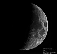 Hello there, [on] the Moon! (Sergei Golyshev (AFK during workdays)) Tags: sky moon mond image space satellite luna crescent telescope processing astronomy cosmos waxing solarsystem univers луна астрономия спутник космос astrophography вселенная deconvolution система обработка clahe солнечнаясистема астрофотография