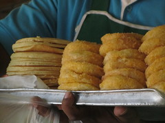 Thailand - Wang Pho - Burma Death Railway - Donuts on sale on train (JulesFoto) Tags: thailand donuts wangpho burmadeathrailway