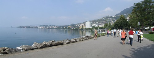 Promenade along Lake Geneva, 06.09.2012.