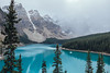 Moraine Lake, Canada (Adam Klekotka) Tags: moraine lake mountain mountains banff park forest water sky blue green tree alberta canada landscape travel mood snow nature traveling fujifilm xt1