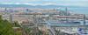 Happy new year 2017  !!!! (cpcmollet) Tags: barcelona panorama panorámica catalonia view urban vista city ciudad bcn catalunya cataluña montjuïc europe europa landscape skyline silueta architecture arquitectura edificios cityscape mediterranean mediterraneo