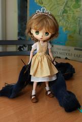 Sock progress (Little little mouse) Tags: jerryberry basicberry obitsubody estebebe honeysuckle doll dpns knitting langjawollmagic