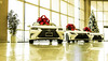 more gifts (jeffcay05) Tags: cars car lexus holidays gifts presents red bow christmas vehicle indoor showroom dealership vannuys keyes keyeslexus