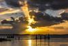 2017-01 Tot ver achter de horizon zoeken we de lente - Hellevoetsluis/NL (Meteo Hellevoetsluis) Tags: 0114 2017 aboutpixels haringvliet hellevoetsluis jacobsladder mnd01 nl nederland netherlands southholland voorneputten winterseizoen zuidholland zuidfront bewolking cloud clouds collecties cumulus januari meteo nature natuur neerslag precipitation sun sunbeam sunray sunset weather weer wolk wolken zon zonnestraal zonsondergang specials