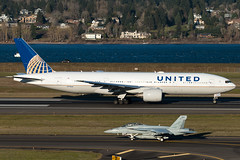 N778UA (sabian404) Tags: n778ua united airlines boeing 777222 b772 777200 ual cn 26940 ln 34 ual219 portland international airport pdx kpdx