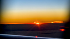 Sunset from the sky (DROSAN DEM) Tags: sunset atardecer ocaso from sky avion plain airplane