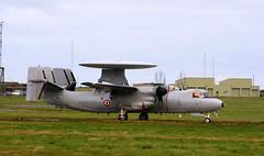 Hawkeye 3 (calzer) Tags: canon trois avion damo raf kinloss e2c hawkeye french navy marine 4f 3 nato exercise