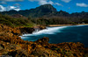 Sun Kissed (Doreen Bequary) Tags: kauai d500 cliff rockycoastline rocky clouds hawaii lithifiedcliffsofmakawehi water ocean sea sky longexposure leefilters landscape mountain mountainside