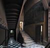 Panorama in an empty villa (RomarioPhotography) Tags: urbex abandoned painting nikon nikond7200 urban stair walls tripod panorama