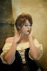 The Cellar 5 (Mark_Dangerous) Tags: woman model vintage poisonapple cellar dark fairytale magical medieval corset dress evil photoseries colorgrading photostory spell femmefatale portrait