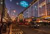 Oxford street, London (Zygios) Tags: europe london capital city lights traffic bus cab people crowd sky sundown nikon nikond610 hdr christmas time line road outdoor architecture christmaslights londonbus reddoubledeckerbuses deckerbuses