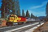 Garnish the Varnish with Mustard and Ketchup (C.P. Kirkie) Tags: amtrak amtk california southernpacific sp overlandroute sdp45 f40ph emd passengertrain donnerpass railroads trains