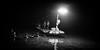 Fishing (GavinZ) Tags: night lowlight bw bnw blackandwhite fishingboat river water bird cormorant china yangshuo asia fishing fisherman bamboo boat 中国 广西