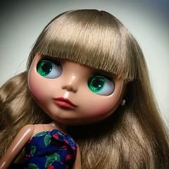 Pretty Tanned Face #blythe #blythedoll #takara #cherrybeachsunset (blytheven) Tags: cherrybeachsunset blythedoll takara blythe