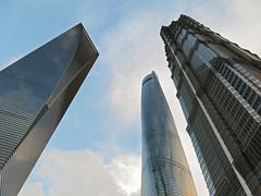 上海 上海中心 金茂 SWFC (CHACOBAOBAO) Tags: 上海 skyline 中國 摩天大樓 swfc 金茂 上海環球 上海中心