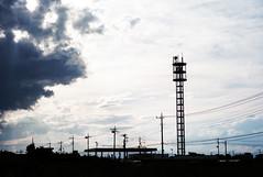 L1012192c (haru__q) Tags: leica m8 voigtlander colorskopar cloud sky 雲 空 tower 塔